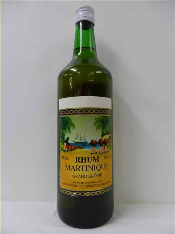 RHUM MARTINIQUE 50% GRAND AROME