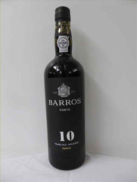 PORTO BARROS ROUGE 10 YEARS OLD